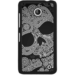 ifasho Modern  Design skeleton in royal Pattern Back Case Cover for Nokia Lumia 630
