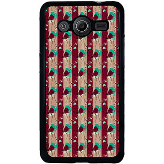 ifasho Animated Pattern design colorful flower in vertical stripe Back Case Cover for Samsung Galaxy Core 2 G355H