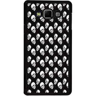 ifasho Modern  Design skeleton Pattern Back Case Cover for Samsung Galaxy A8