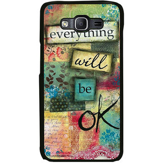 ifasho everything will be ok quotes Back Case Cover for Samsung Galaxy E7