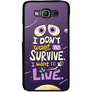 ifasho life Quotes Back Case Cover for Samsung Galaxy E7