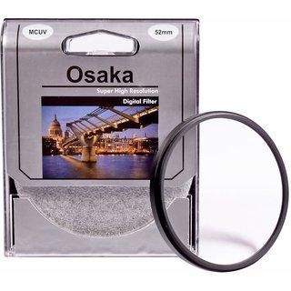 Osaka 52mm Multi Coated UV Filter MCUV 4 Layer Coating