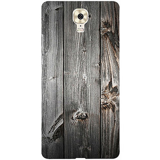 Casotec Wooden Texture Design 3D Printed Hard Back Case Cover for Gionee M6 Plus
