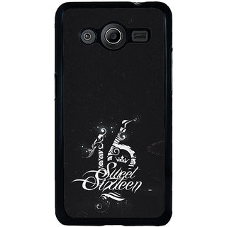 ifasho sweet sixteen quotes Back Case Cover for Samsung Galaxy Core 2 G355H