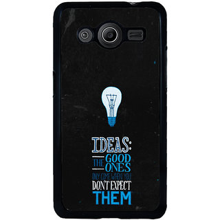 ifasho Quotes on idea Back Case Cover for Samsung Galaxy Core 2 G355H