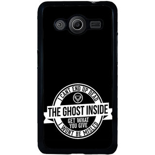 ifasho Think Out of Box Back Case Cover for Samsung Galaxy Core 2 G355H