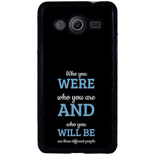ifasho Philosophical Messge Back Case Cover for Samsung Galaxy Core 2 G355H