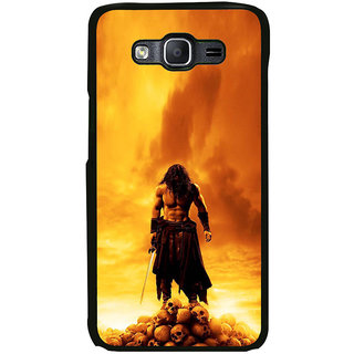 ifasho Modern Art Design animated man with skeleton Back Case Cover for Samsung Galaxy E5
