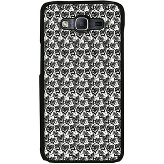 ifasho Modern Art Design Pattern with Lot Of small heart with +sign Back Case Cover for Samsung Galaxy E7
