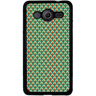 ifasho Animated Pattern of Chevron Arrows royal style Back Case Cover for Samsung Galaxy Core 2 G355H
