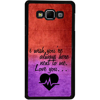 ifasho Love Quote Back Case Cover for Samsung Galaxy A8