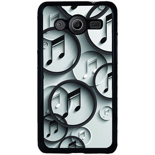 ifasho Modern Art Design Pattern Music symbol Back Case Cover for Samsung Galaxy Core 2 G355H
