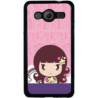 ifasho Cute Baby Back Case Cover for Samsung Galaxy Core 2 G355H