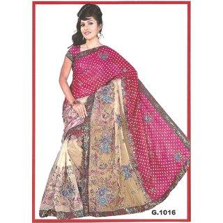 Vk Multi Print Saree
