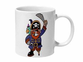 Mooch Wale Piratey Pirate Ceramic Mug
