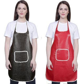 iLiv Kitchen Apron Free size set of 2