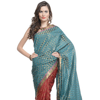 ADHYA Saree with Unstitched Blouse
