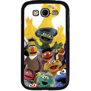 ifasho Cartoon Soft face many cartoons characters Back Case Cover for Samsung Galaxy Grand 2
