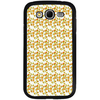 ifasho Modern Art Design animated cloth Pattern of flower Back Case Cover for Samsung Galaxy Grand 2