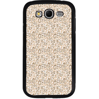 ifasho single color rectangle and circle and dots Pattern Back Case Cover for Samsung Galaxy Grand 2