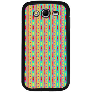ifasho Animated Pattern colrful traditional design Back Case Cover for Samsung Galaxy Grand