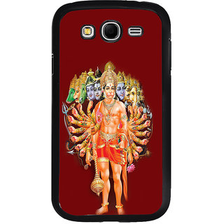 ifasho Lord Hanuman Back Case Cover for Samsung Galaxy Grand