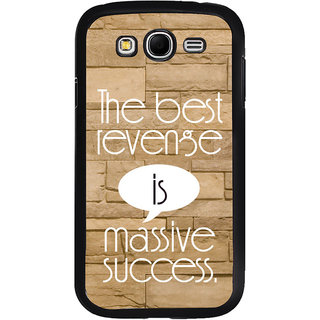 ifasho quotes on success Back Case Cover for Samsung Galaxy Grand
