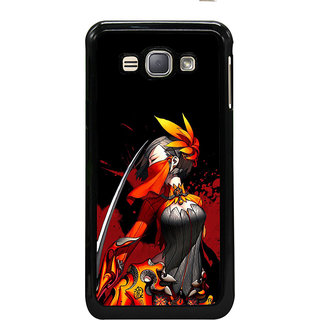 ifasho Colorful Girl animated Back Case Cover for Samsung Galaxy J1 (2016 Edition)