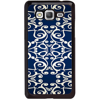 ifasho Animated Pattern design colorful flower in royal style Back Case Cover for Samsung Galaxy Grand Prime