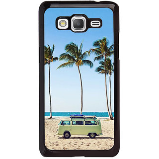 ifasho Bus on a beach Back Case Cover for Samsung Galaxy Grand Prime