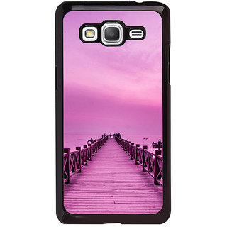 ifasho walking wooden bridge on a sea Back Case Cover for Samsung Galaxy Grand Prime