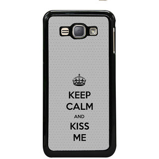 ifasho Nice Quote On Keep Calm Back Case Cover for Samsung Galaxy J1 (2016 Edition)