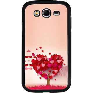 ifasho Animated Pattern With Love and heart and Ishq Back Case Cover for Samsung Galaxy Grand 2