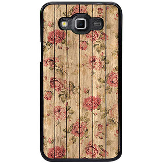 ifasho Modern Art Design painted flower on wood Back Case Cover for Samsung Galaxy Grand 3