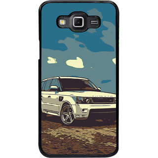 ifasho Vintage white Car Back Case Cover for Samsung Galaxy Grand 3