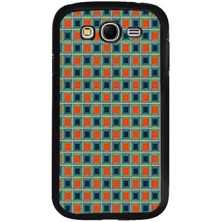 ifasho Colour Full Square Pattern Back Case Cover for Samsung Galaxy Grand