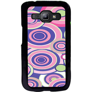ifasho Animation Clourful Circle Pattern Back Case Cover for Samsung Galaxy J1