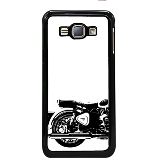 ifasho Royal Bike Back Case Cover for Samsung Galaxy J1 (2016 Edition)