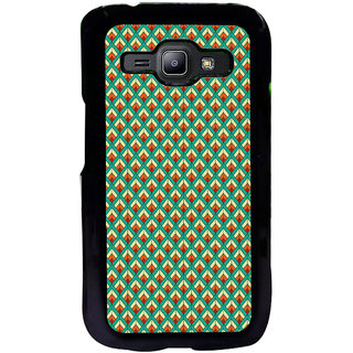 ifasho Animated Pattern of Chevron Arrows royal style Back Case Cover for Samsung Galaxy J1