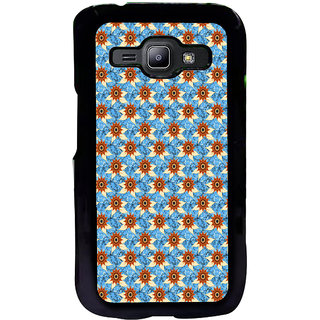 ifasho Modern Art Design animated cloth Pattern of sunflower Back Case Cover for Samsung Galaxy J1