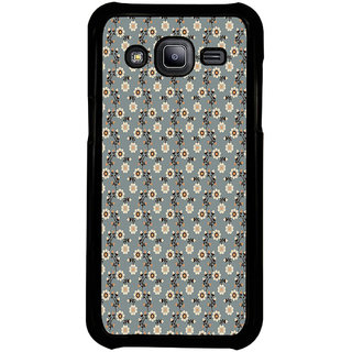 ifasho Animated Pattern colrful design flower with leaves Back Case Cover for Samsung Galaxy J2