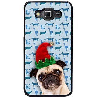 ifasho Dog with red hat Back Case Cover for Samsung Galaxy Grand 3