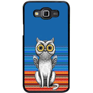 ifasho ModernBird and Owl Pattern Back Case Cover for Samsung Galaxy Grand 3