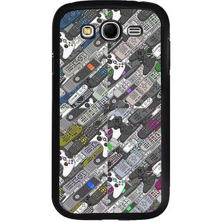 ifasho Animated Pattern  littel and Big colourful remotes Back Case Cover for Samsung Galaxy Grand