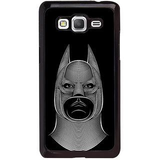 ifasho Animated man face cartoon with horn Back Case Cover for Samsung Galaxy Grand Prime