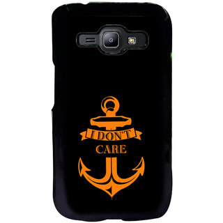 ifasho I dont care quotes Back Case Cover for Samsung Galaxy J1