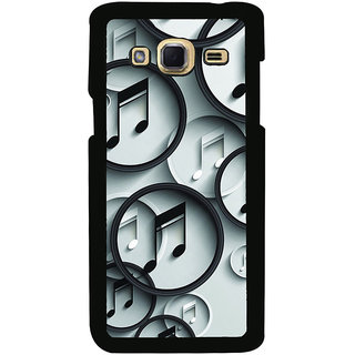 ifasho Modern Art Design Pattern Music symbol Back Case Cover for Samsung Galaxy J3
