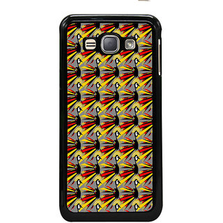 ifasho Animated Pattern peacock Back Case Cover for Samsung Galaxy J1 (2016 Edition)