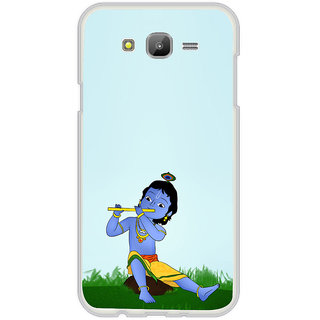 ifasho Lord Krishna with Flute Back Case Cover for Samsung Galaxy J5