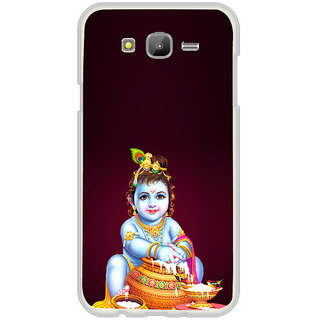 ifasho Lord Krishna stealing curd Back Case Cover for Samsung Galaxy J5